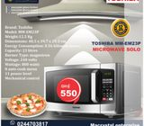 TOSHIBA MM-EM23P  MICROWAVE SOLO