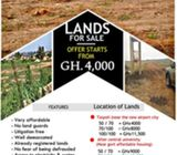 Estate lands For sale