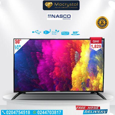 """NASCO  55"""" LED TV"""