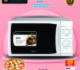 MICROWAVE OVEN 20 LITRES MM720CFB-S