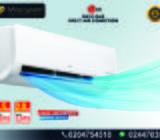 LG SPLIT AIR CONDITION R410 GAS 1.5HP  & 2.0HP