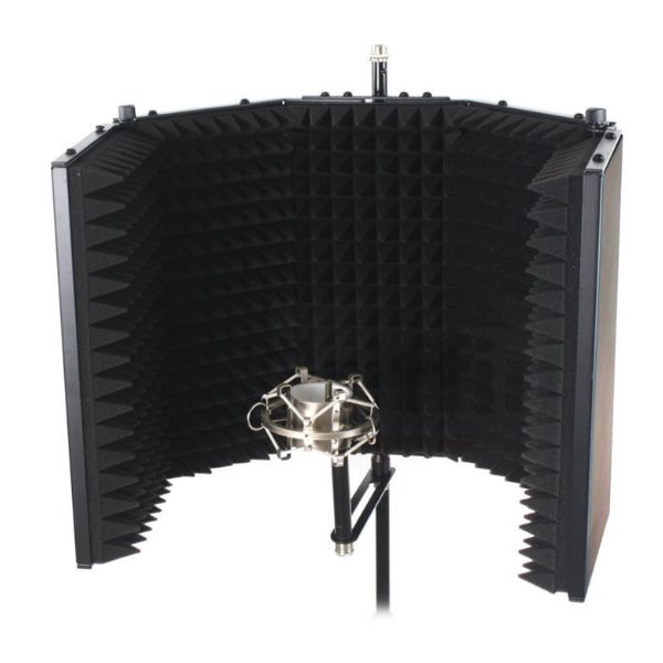 mic isolated shield