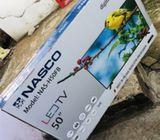 "Nasco 50"" tv"