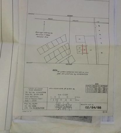 Comercial  land For sale at Spintex