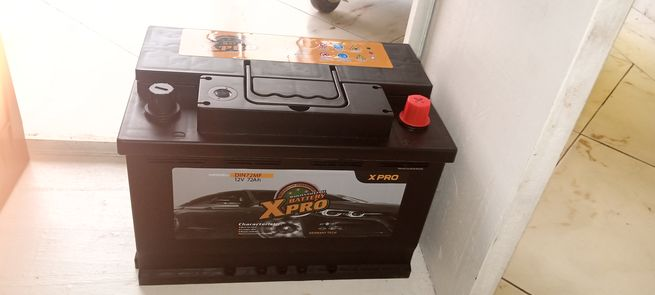15 Plates Xpro Car battery - free Delivery