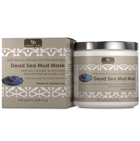 Beauty Aura Dead Sea Mud Mask - 250 Grams
