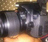 Canon 650D + kit lens