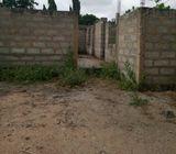 UNROOFED 4 BEDROOM HOUSE AT OFAAKOR KASOA