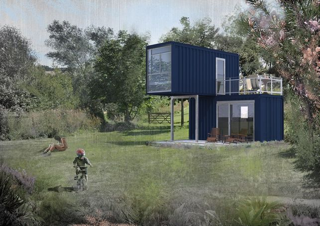 Container land space to rent