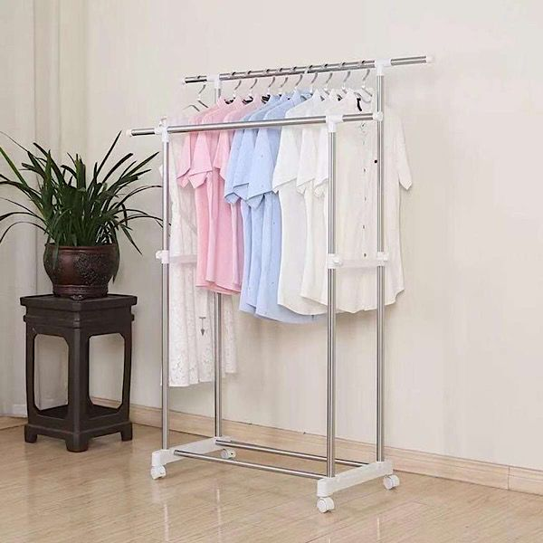Heavy Duty Double Pole Rack