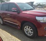 LAND CRUISER 2018 WINE COLOR FOR SALE