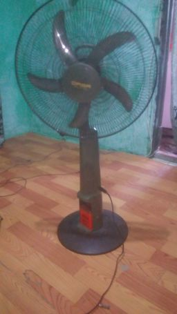 Solar standing Fan