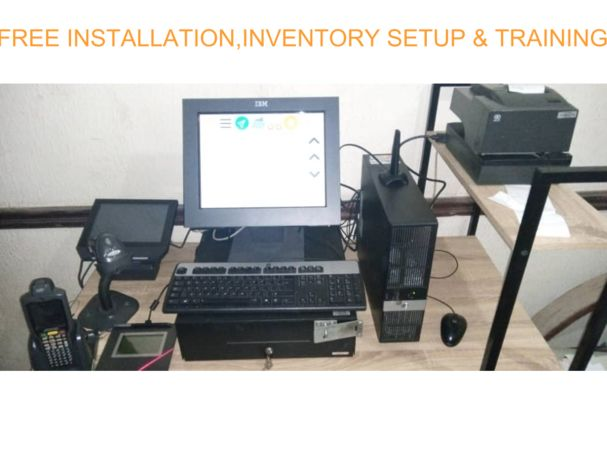 IBM TOUCHSCREEN COMPLETE SHOP POS SYSTEM