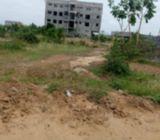 Litigation free 70 by 100 land at emf comm 14 lashibi tema for sale