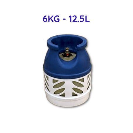 LPG Fibre Glass Gas Cylinder 6KG (12.5L) with Regulator