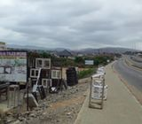 4 Road side Plot of Land for sale at Ablekuma - Pokuasi Road