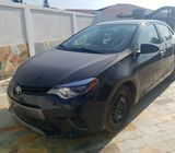 Toyota Corolla Le. Full Option. Model: 2016