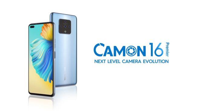 Tecno camon 16 premier new