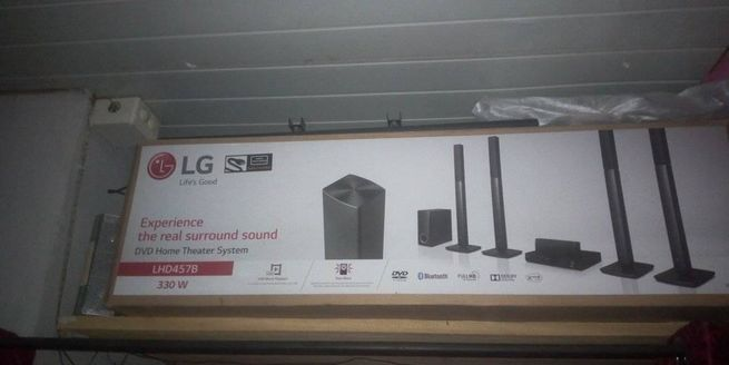 LG SPEAKERS AND dvd