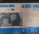 Bruhm 32 inches  Smart Cast Ultra Slim Frame with Full HD digital satellite.