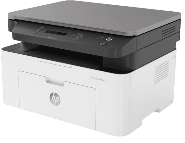 Hp Laser MFP 135a Multi Function Printer - LaserJet Print Scan Photocoyp - White