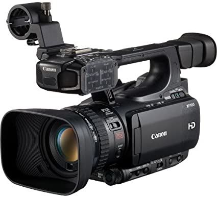 Canon XF100 Professional Camcorder with 10x HD Video lens