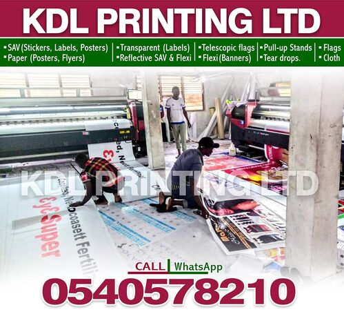 Printing Services  (large format Printing)