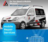 Car Servicing at La-Shanta Ghana Ltd.