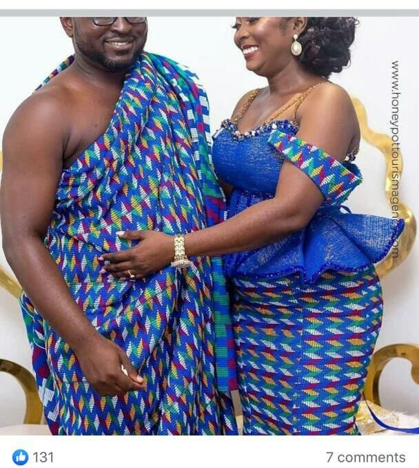Beautiful and Quality Engagements Kente