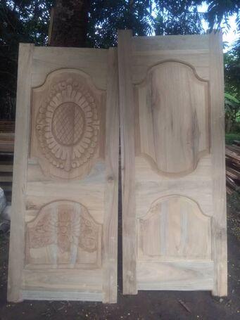 Gameli Apehdo wooden designer doors