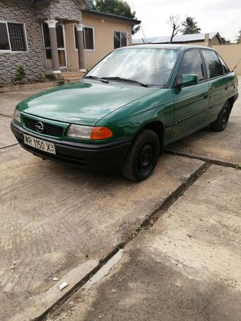 Selling Opel Astra in a good condition