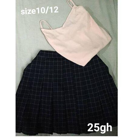 Tennis skirt + top