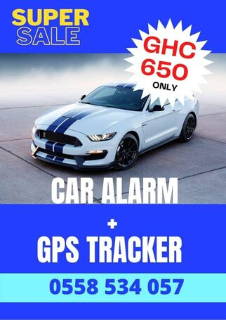 CAR ALARM AND CAR TRACKER PROMO