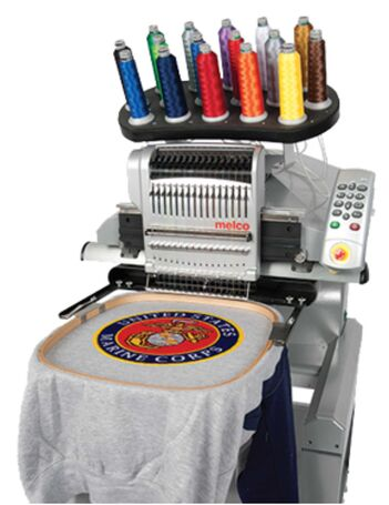 Melco EMT16X Embroidery Machine