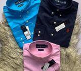 Oxford Polo Long sleeve shirts