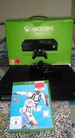 Brand new Xbox one 1TB with fifa 19