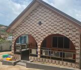 3 Bedrooms/Single Store Full House For Sale At Aplaku Old Barrier(New Weija)