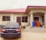 3 Bedrooms Full House For Sale At Kasoa Amuzu Junction