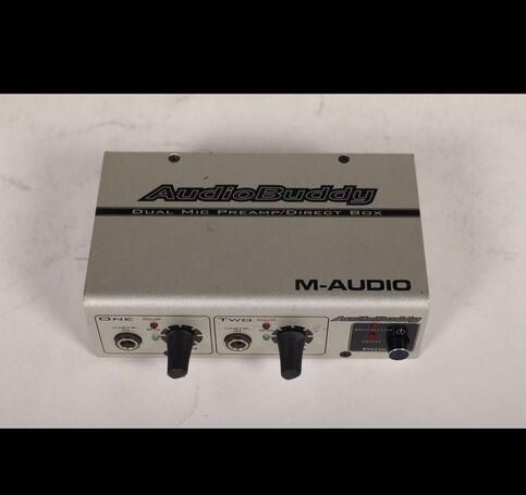 M Audio microphone  dual preamp