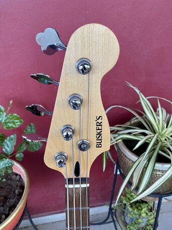 Busker's Active P-Jazz Bass