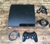 Ps3 with pad for cool price with games