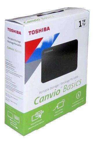 SHARE THIS PRODUCT   Toshiba Canvio Basics Portable USB 3.0 External Hard Drive - 1TB Black