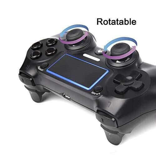 PS4 Controller For Sale- Blue and Black