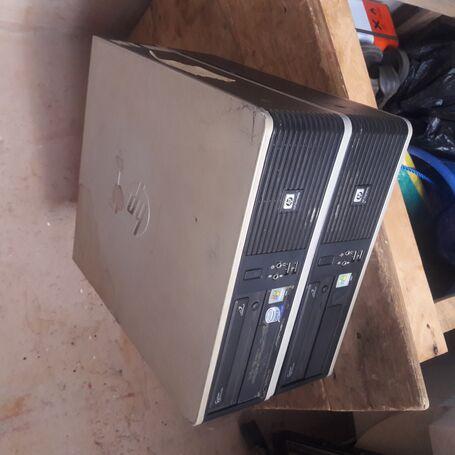 Hp Compaq Dc 5800 Small Form Factor Desktop System Unit Computer