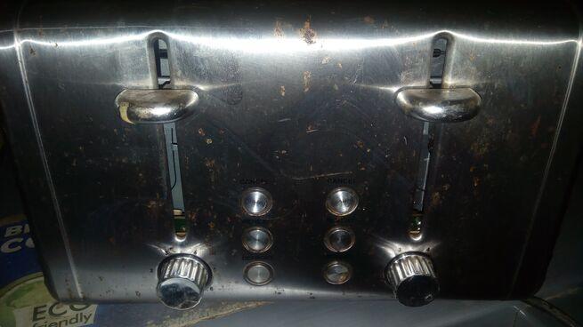 Used toaster 4 slice