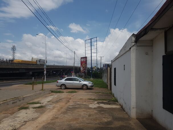 Titled roadside 5 plot for sale at Achimota