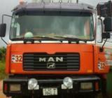 12 wheeler Man Togo Diesel Truck