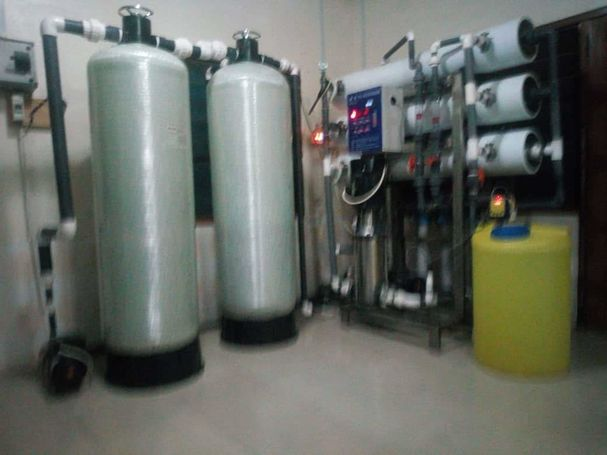 Reverse Osmosis Water Treatment System Complete Set