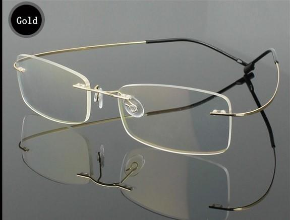 Rimless Optical Glasses Frame six Coulours
