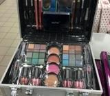 Full make up kit box with make ups in it